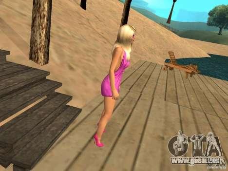 Mia Pinky für GTA San Andreas dritten Screenshot