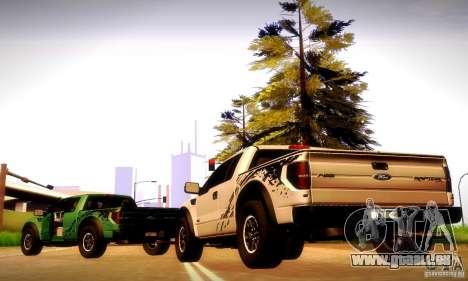 Ford F-150 SVT Raptor V1.0 für GTA San Andreas zurück linke Ansicht