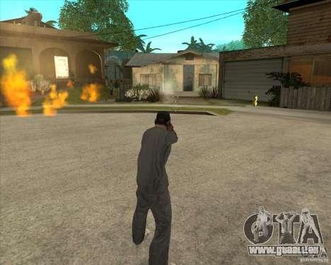 Gta IV weapon anims pour GTA San Andreas quatrième écran