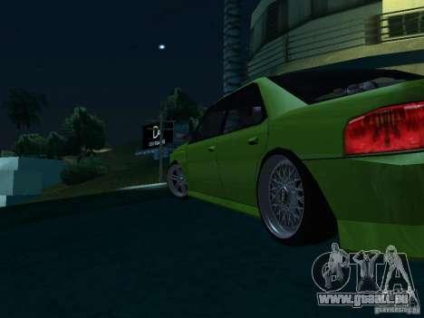 DR Sultan pour GTA San Andreas sur la vue arrière gauche