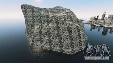 Paysage de montagne pour GTA 4 secondes d'écran