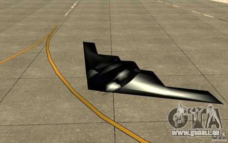 B2-Stealth für GTA San Andreas linke Ansicht