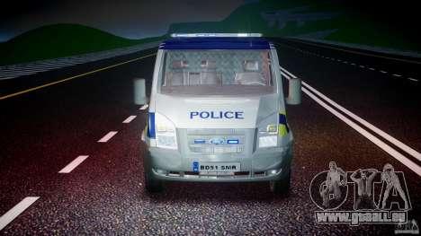 Ford Transit Polish Police [ELS] pour GTA 4 est un côté