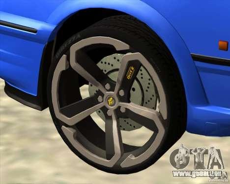 Z-s wheel pack pour GTA San Andreas quatrième écran