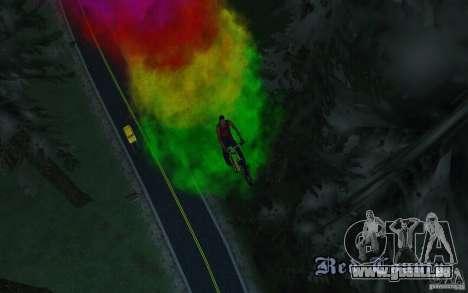 Bike Smoke pour GTA San Andreas deuxième écran