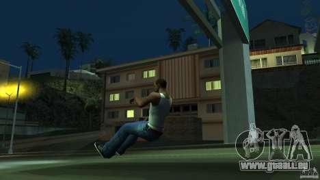 Invisible Blista Compact pour GTA San Andreas laissé vue