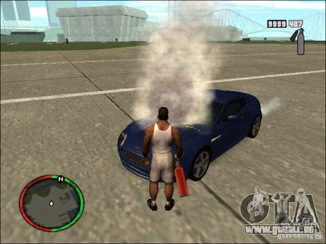 Auto-einen Feuerlöscher Löschmittel für GTA San Andreas her Screenshot