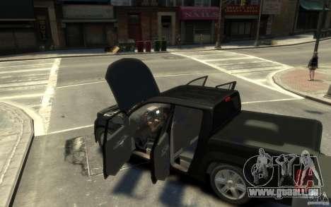 Volkswagen Amarok TDI 2011 pour GTA 4 est un droit
