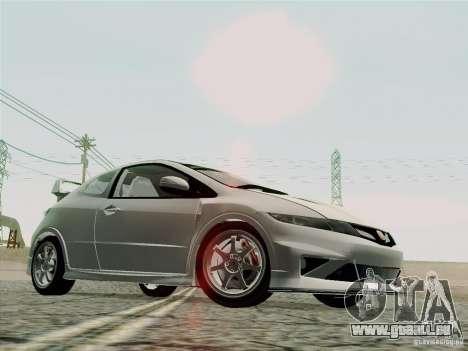 Honda Civic TypeR Mugen 2010 für GTA San Andreas obere Ansicht