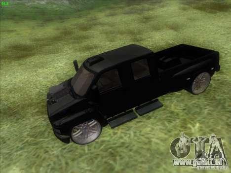 GMC C4500 Pickup DUB Style für GTA San Andreas rechten Ansicht