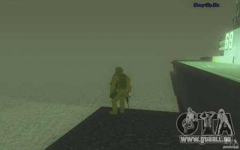 HD Wasser v2. 0 für GTA San Andreas dritten Screenshot