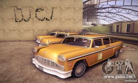 Cabbie HD pour GTA San Andreas