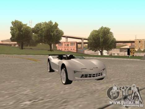 Chevrolet Corvette C7 Spyder für GTA San Andreas linke Ansicht