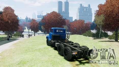 KrAZ-6322 pour GTA 4 est un droit