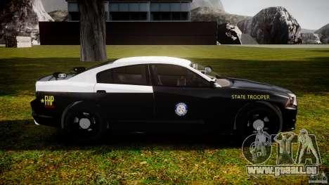 Dodge Charger 2012 Florida Highway Patrol [ELS] pour GTA 4 Vue arrière