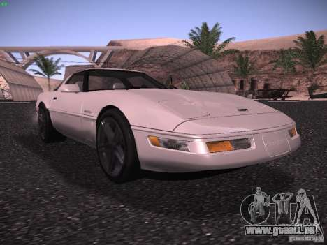 Chevrolet Corvette Grand Sport für GTA San Andreas linke Ansicht