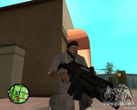 La carabine Ross pour GTA San Andreas