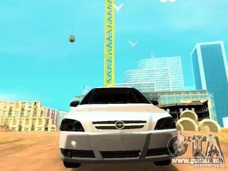 Chevrolet Astra Hatch 2010 für GTA San Andreas Rückansicht