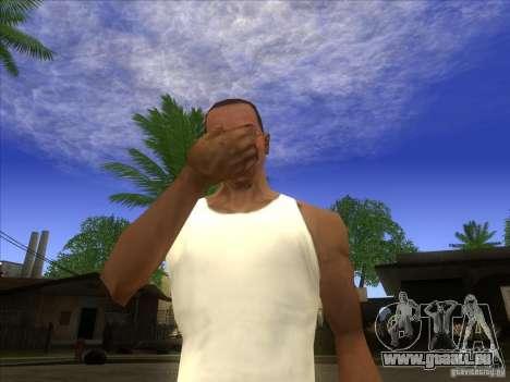 Facepalm Mod pour GTA San Andreas