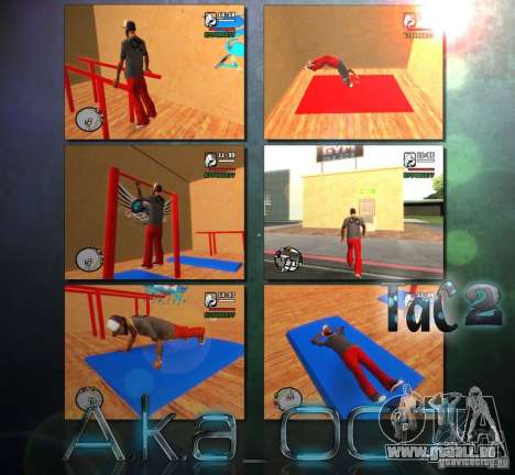 Training and Charging 2 für GTA San Andreas