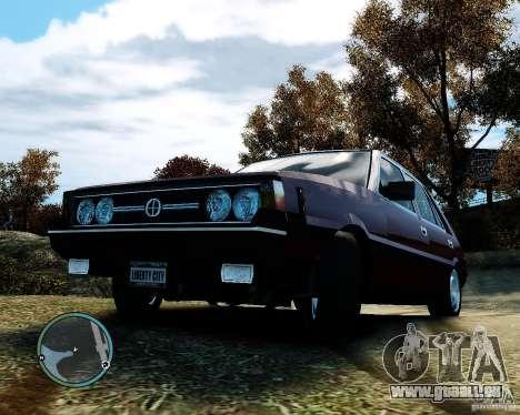 FSO Polonez 1500 Borewicz pour GTA 4 est un côté