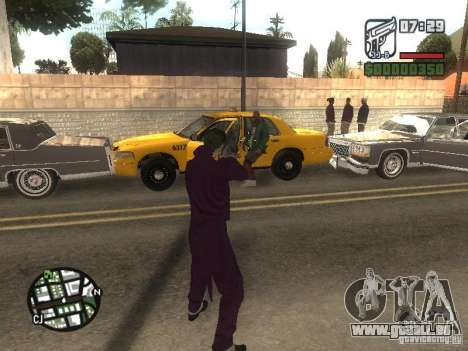 HQ Joker Skin für GTA San Andreas neunten Screenshot