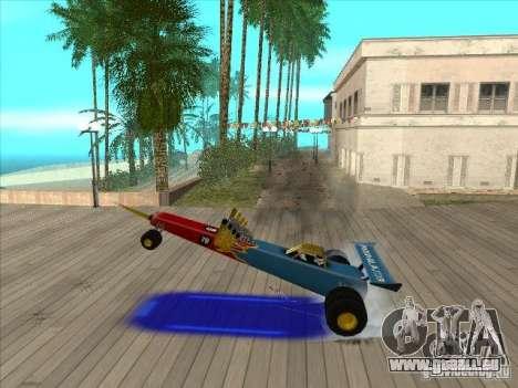 Dragg car pour GTA San Andreas vue de côté