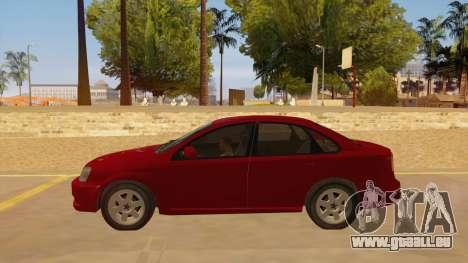 Buick Excelle pour GTA San Andreas laissé vue