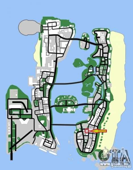 Shell Station pour GTA Vice City le sixième écran