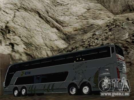 Busscar Panoramico DD 8x2 pour GTA San Andreas roue