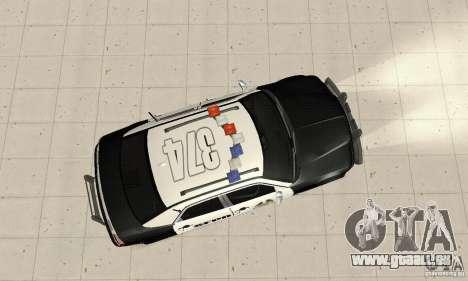 Chrysler 300C Police v2.0 pour GTA San Andreas vue de droite