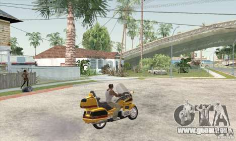Honda Goldwing GL 1500  (1990) für GTA San Andreas linke Ansicht
