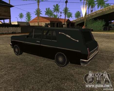 Coffin San Andreas Stories pour GTA San Andreas laissé vue