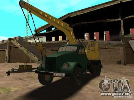 GAZ 51 grue mobile pour GTA San Andreas