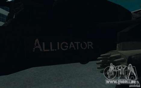 KA-52 ALLIGATOR v1.0 für GTA San Andreas Rückansicht