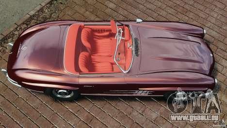 Mercedes-Benz 300 SL Roadster v1.0 für GTA 4 rechte Ansicht