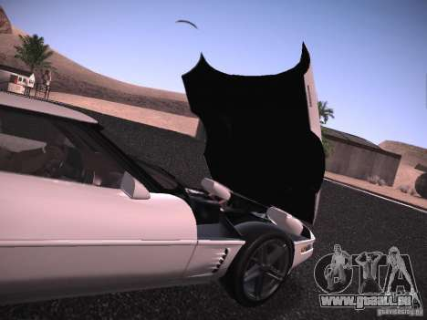 Chevrolet Corvette Grand Sport für GTA San Andreas Seitenansicht