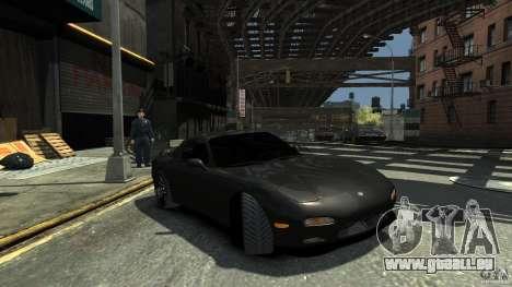 Mazda RX7 1995 Black [EPM] pour GTA 4