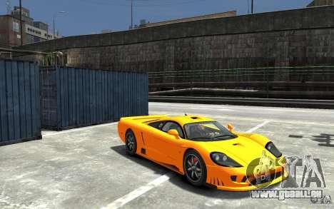 Saleen S7 für GTA 4 Rückansicht