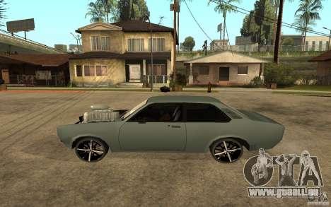 Chevrolet Cheville für GTA San Andreas linke Ansicht