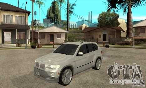 BMW X5 E70 Tuned für GTA San Andreas