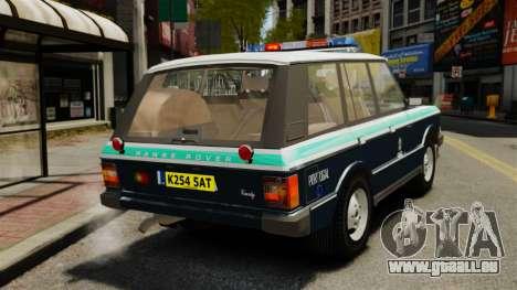 Range Rover Classic ELS für GTA 4 hinten links Ansicht