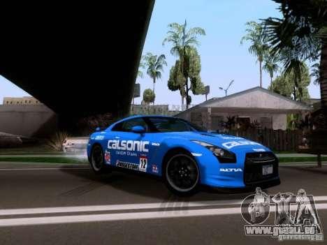 Nissan GTR 2010 Spec-V pour GTA San Andreas
