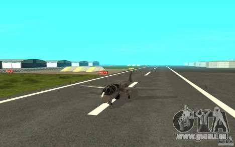 EA-6B Prowler für GTA San Andreas zurück linke Ansicht