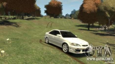 Honda Civic Si 1999 für GTA 4 rechte Ansicht