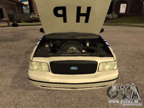 Ford Crown Victoria NSW Police für GTA San Andreas rechten Ansicht