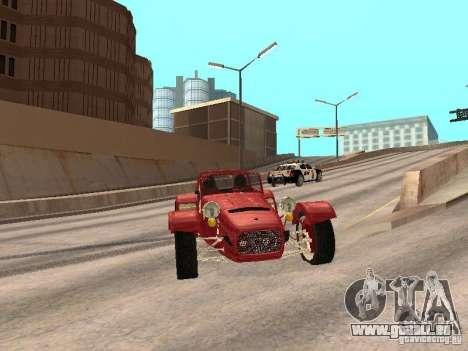 Caterham CSR 260 für GTA San Andreas