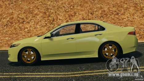 Honda Accord Type S 2008 pour GTA 4 est une gauche