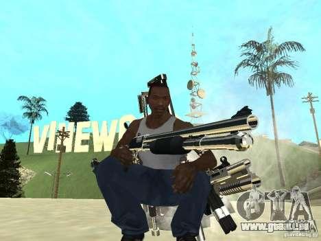 Weapons Pack pour GTA San Andreas deuxième écran