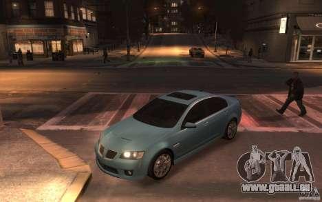 Pontiac G8 GXP pour GTA 4